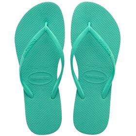 havaianas Slim Flips Damen mint green/mint green